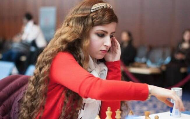 Dorsa Derakhshani, atleta iraniana de xadrez