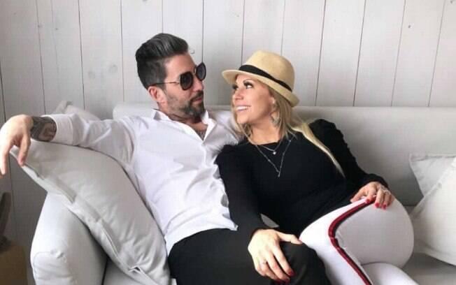 Antonella Avelaneda e o ex-marido