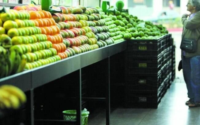 Hortaliças têm preço em alta nos atacados