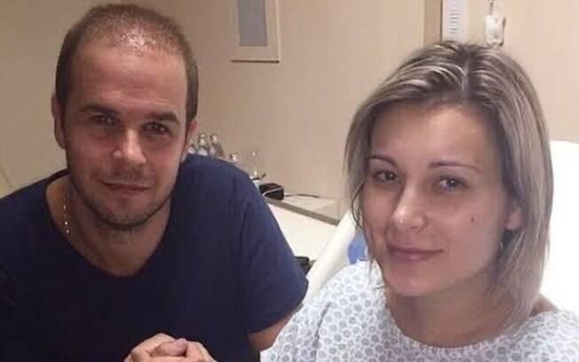 Andressa Urach hospitalizada em 2015 após complicações por aplicar hidrogel