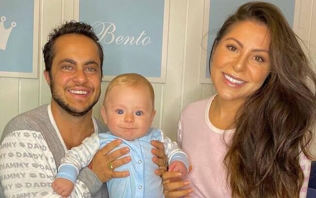 Thammy, Andressa e Bento