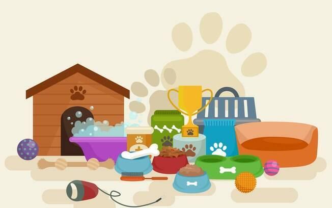 Os pets precisam de produtos específicos para eles