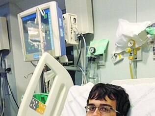 BH. Arthur Senna está internado no Centro de Tratamento Intensivo (CTI) do Hospital das Clínicas desde 13 de junho