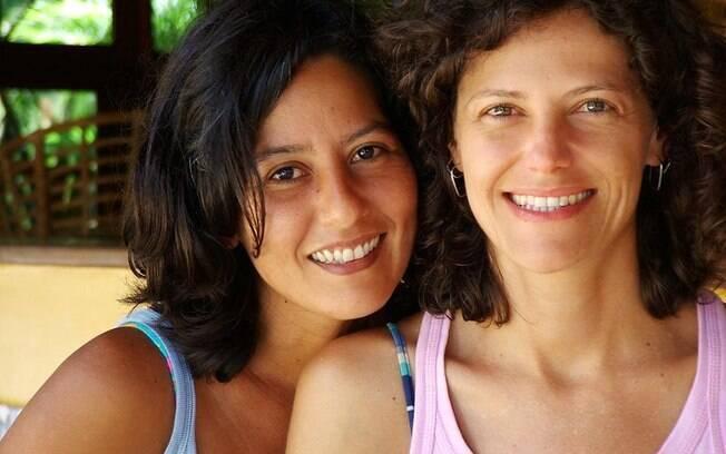 Pya Pêra e Karla Lima,  juntas há 12 anos