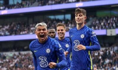 Thiago Silva marca, e Chelsea vence Tottenham pela Premier League