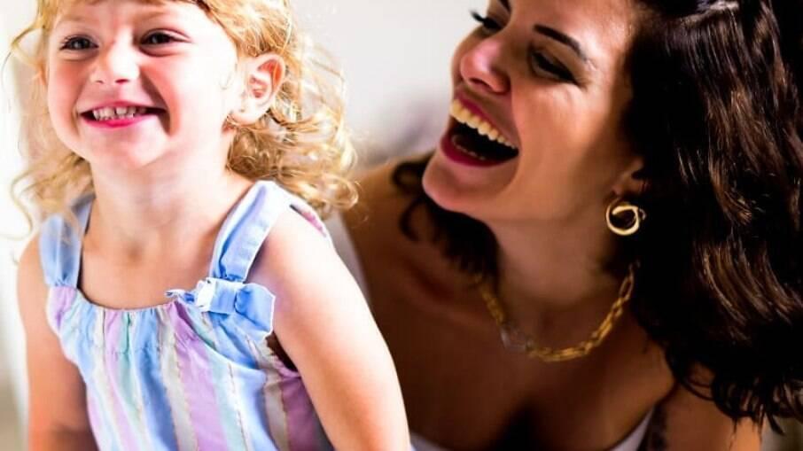 Renata Del Bianco e sua filha, Aurora