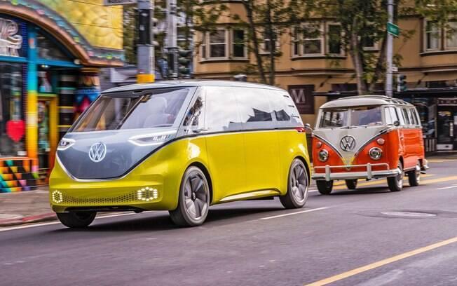 A Kombi elétrica da nova geração está a caminho como parte da grande investida da marca alemã