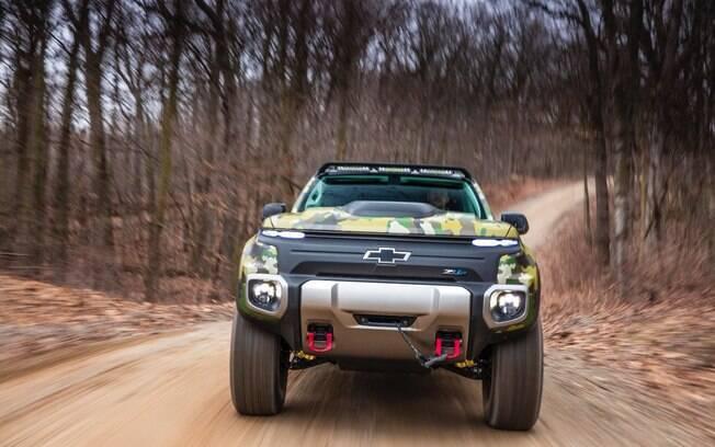Chevrolet Colorado ZH2: protótipo deverá servir de inspiração para a nova picape que será montada na Argentina