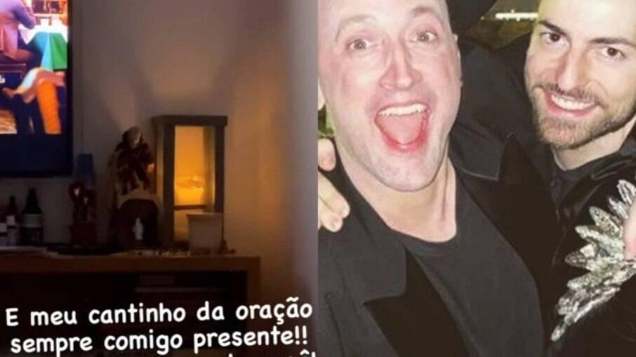 Marido de Paulo Gustavo compartilha cantinho decido ao companheiro