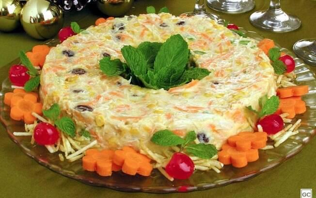 Guirlanda de salpico festiva para refeies deliciosas e fceis