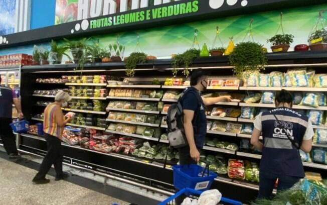 Supermercados acumulam alta de 3,94% nas vendas