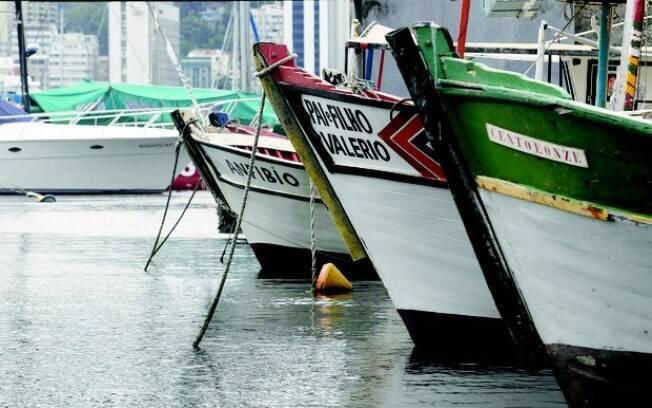 Após o começo da série de roubos, moradores reforçaram seus barcos com correntes e cabos de aço