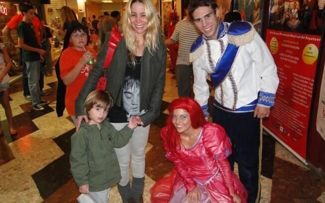 Dupla se diverte com a Pequena Sereia e o Príncipe