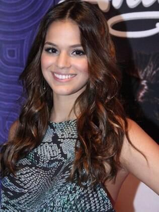 Bruna Marquezine no show da cantora Anitta