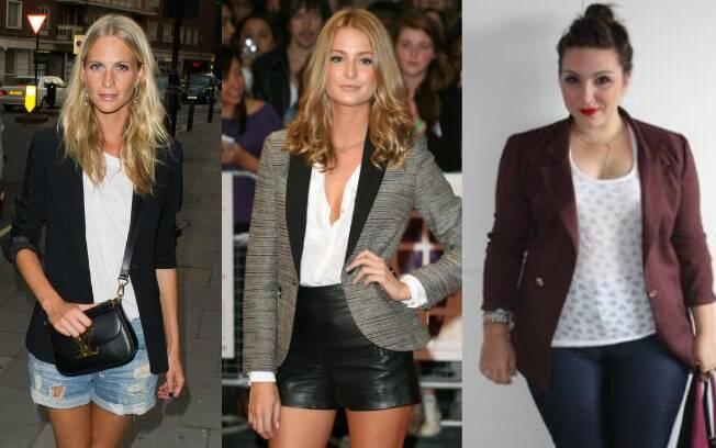 Blazer é uma das peças que ajuda a valorizar o look das mulheres, além de garantir cinturinha mesmo para quem não tem