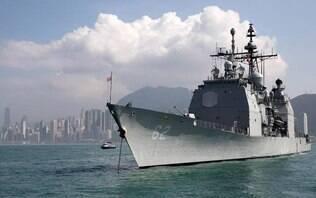 Navios de guerra de EUA e Rússia quase colidem no Pacífico