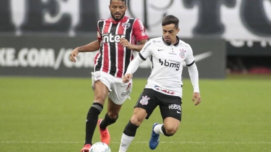 Corinthians x São Paulo se enfrentam hoje pelo Paulistão