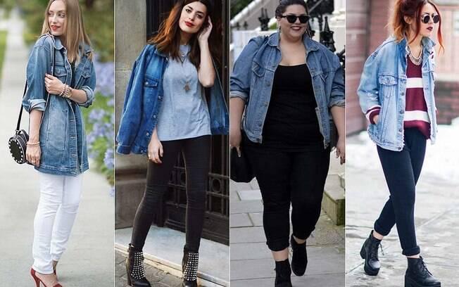 Jaqueta jeans é super versátil e combina com todos os tipos de corpos, basta algumas dicas para usar sem erro