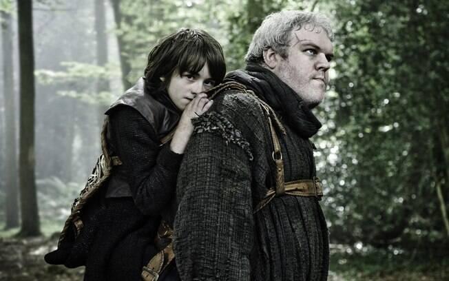Kristian Nairn interpreta Hodor, responsável pelo jovem Bradon Stark na série 'Game of Thrones '