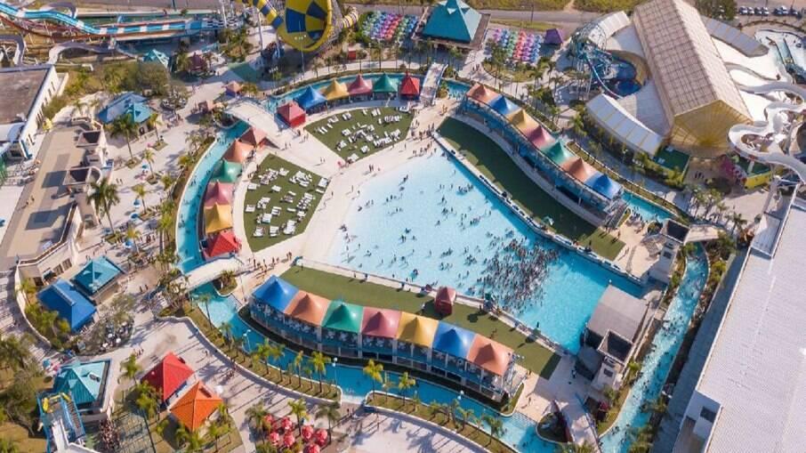 O parque aquático está localizado em Itupeva, cidade a apenas 60 km da capital paulista.