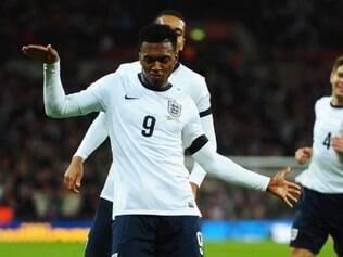 Sturridge fez o gol da vitória inglesa sobre a Dinamarca já no final da partida em Londres
