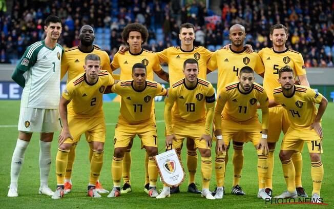 A seleção belga assumiu a liderança do ranking da Fifa ao final de outubro e virará 2019 na ponta