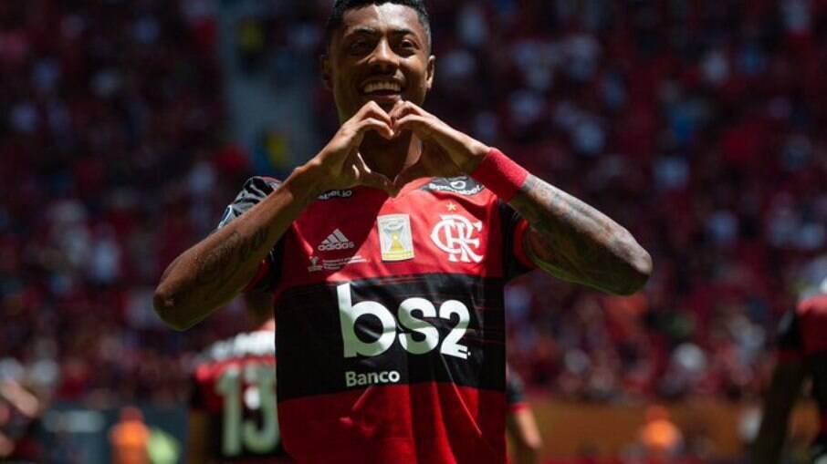 Bruno Henrique foi oferecido ao Palmeiras