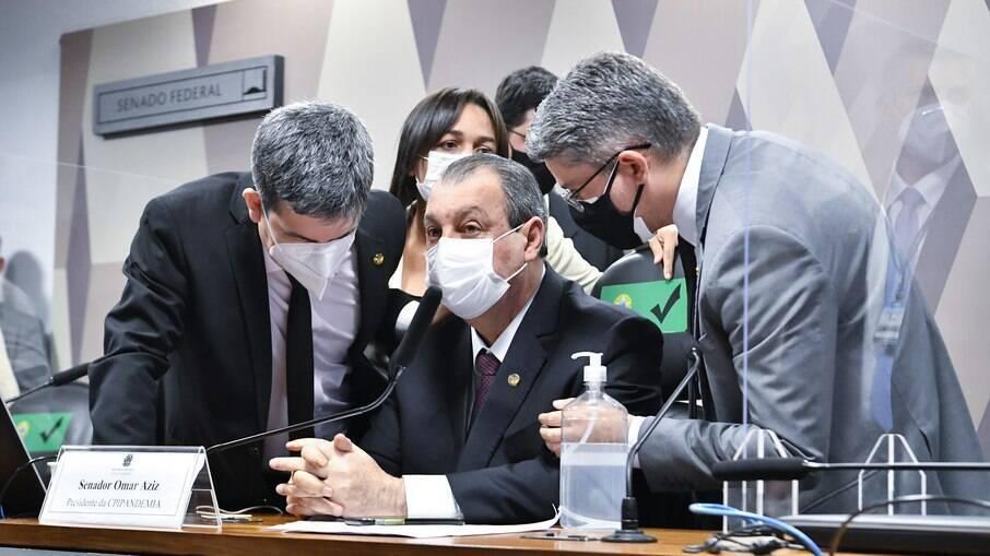 Membros da CPI da Covid