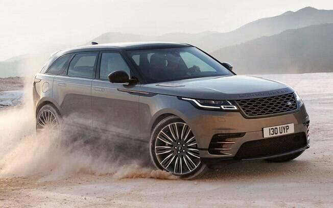 A Jaguar Land Rover aumenta sua linha de SUVs com o Range Rover Velar, posicionado entre Evoque e Sport