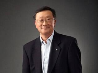 John Chen é o atual CEO da BlackBerry