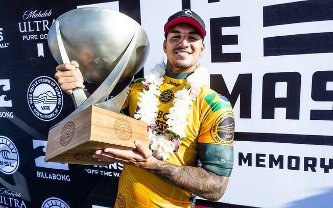 Bicampeão mundial de surfe, Gabriel Medina tem tudo para ser um dos representantes brasileiros nos Jogos Olímpicos de Tóquio em 2020