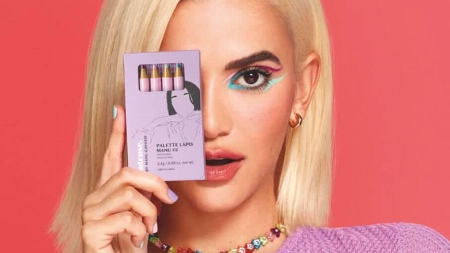 A caixinha de lápis coloridos para os olhos vem com 4 cores lindas que super combinam entre si