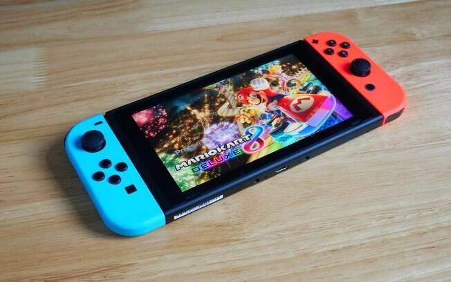 Nintendo Switch tem jogos em promoção