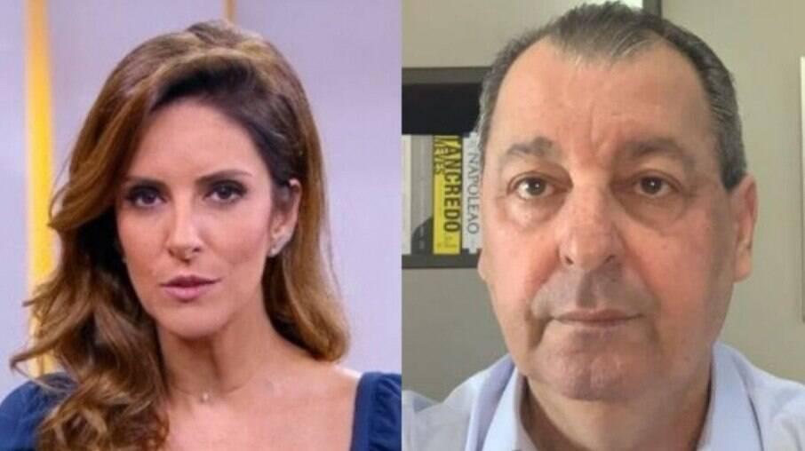 Monalisa Perrone e Omar Aziz