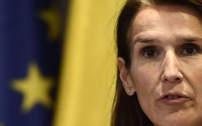 Sophie Wilmès, primeira-ministra da Bélgica