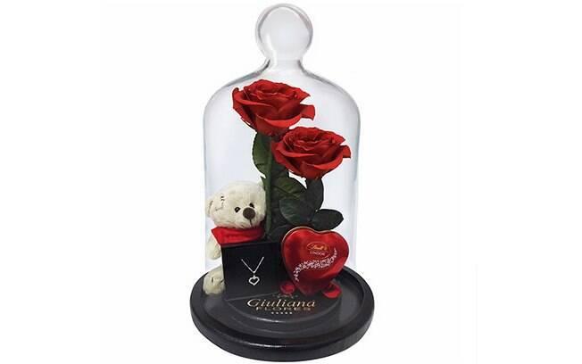 Jardim das Rosas Vermelhas Gift; Por: R$ 489,90 em até 3x de R$ 163,30