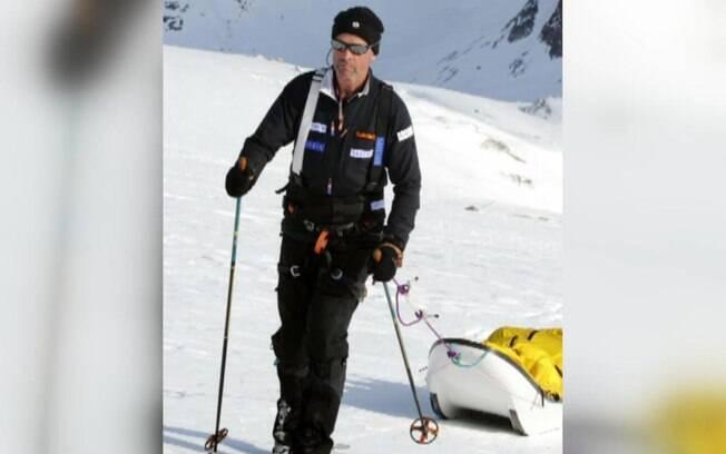 O britânico Henry Worsley, de 55 anos, tentava seguir os passos do explorador polar Ernest Shackleton,que tentou cruzar a Antártida, sem sucesso, há 100 anos