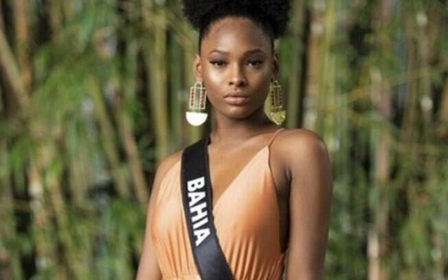 A Miss Bahia Maria Isabel sonha ser a sucessora da Miss Brasil Monalysa Alcântara