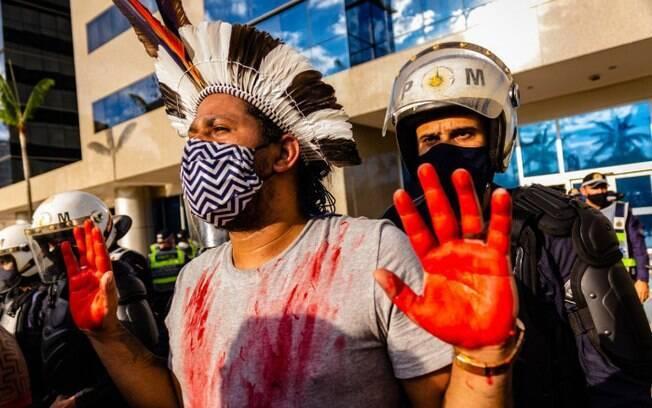 """A guerra continua, perdemos uma batalha"", diz líder indígena sobre PL 490"