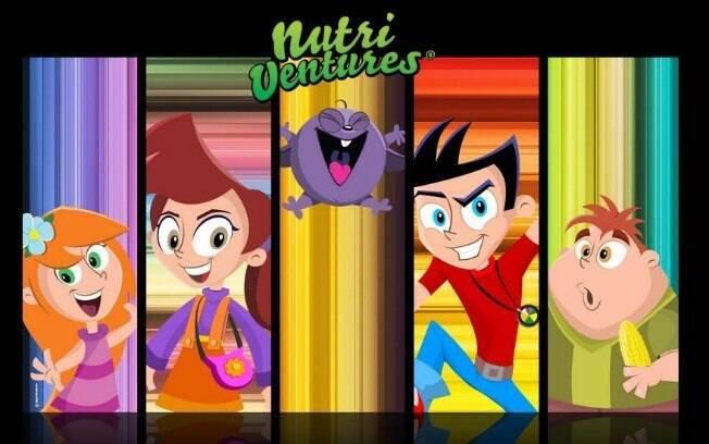 Os personagens Teo, Lena, Ben e Nina vivem em um mundo onde os alimentos são capazes de dar superpoderes para as crianças