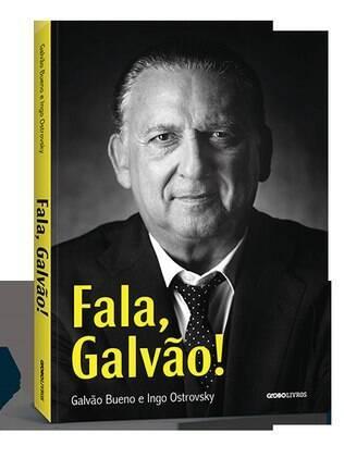 Galvão Bueno lança livro sobre a carreira