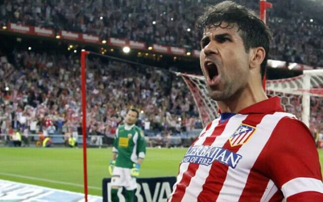 Diego Costa está de volta ao Atlético de Madri após longa novela entre o jogador e o Chelsea