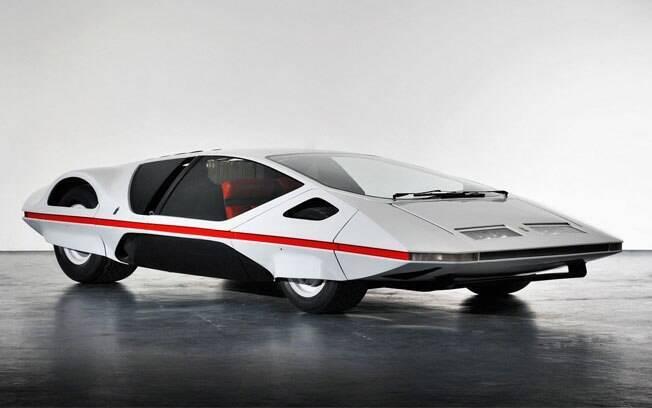 Nem parece, mas é um carro da Ferrari. O 512S Modulo foi criado pelo estúdio Pininfarina e apenas uma unidade foi produzida.
