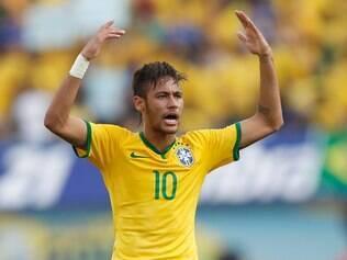 Neymar comandou o Braisl, com gol, assistências e show em campo