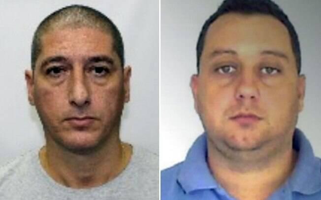 Ronnie Lessa (esquerda) e Élcio Queiroz (direita) foram presos acusados de matar a vereadora Marielle Franco