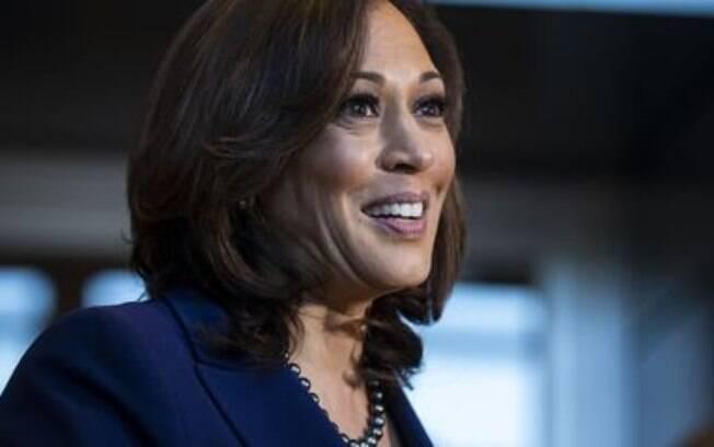 A democrata Kamala Harris, da chapa de Joe Biden.