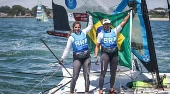 Martine e Kahena faturam ouro na vela e selam bicampeonato