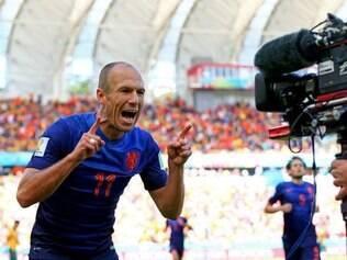 Holandês também comemorou desempenho da seleção, que terminou como a líder do Grupo B