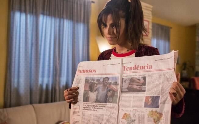 Emanuelle Araújo em cena de Samantha!, que estreia nesta sexta-feira (6) na Netflix