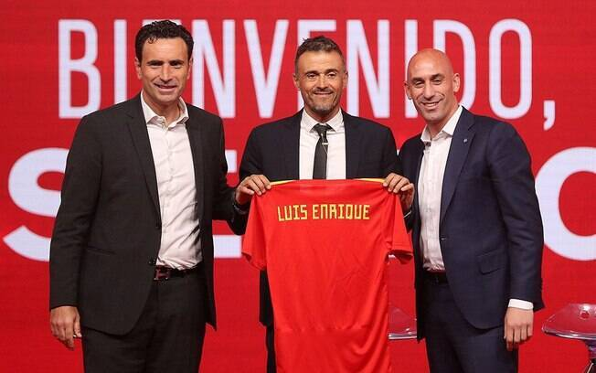 Luis Enrique pediu para sair do comando da seleção da Espanha